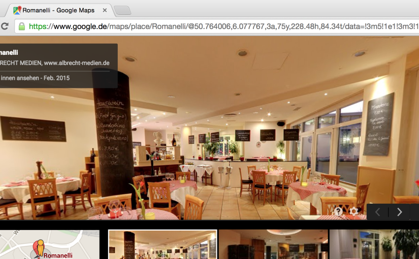 Google Maps Business View PanoID
