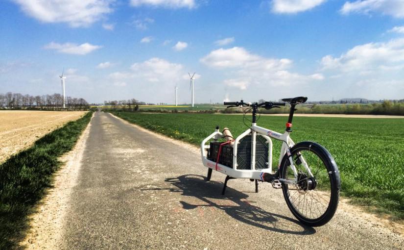 Radreise mit Lastenrädern auf der Vennbahn
